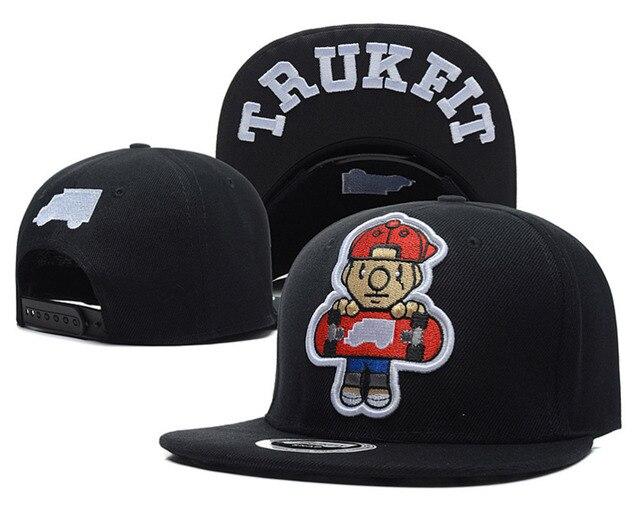 ce898b16 Skateboard TRUKFIT snapback caps & hats for men women bones swag 5 panel sun  hat BOY fashion baseball cap hip hop bboy gorras