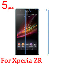 5pcs Ultra Clear Matte Nano Anti-Explosion LCD Screen Protector Film Cover For Sony Xperia ZR M36H C5502 C5503 Protective Film(China)