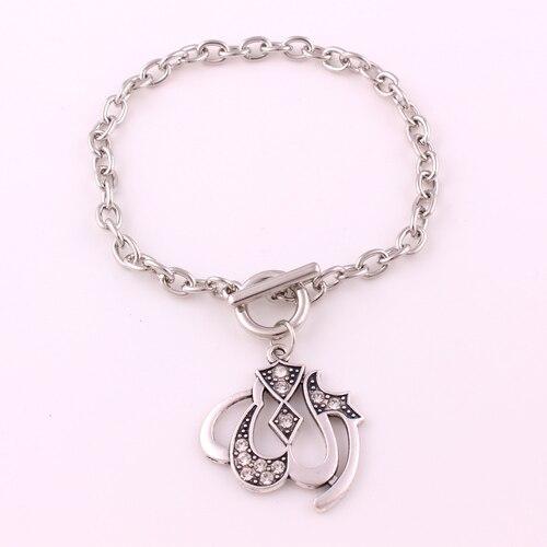 Islamic muslim bracelet necklace Allah arabic pendant  bracelet
