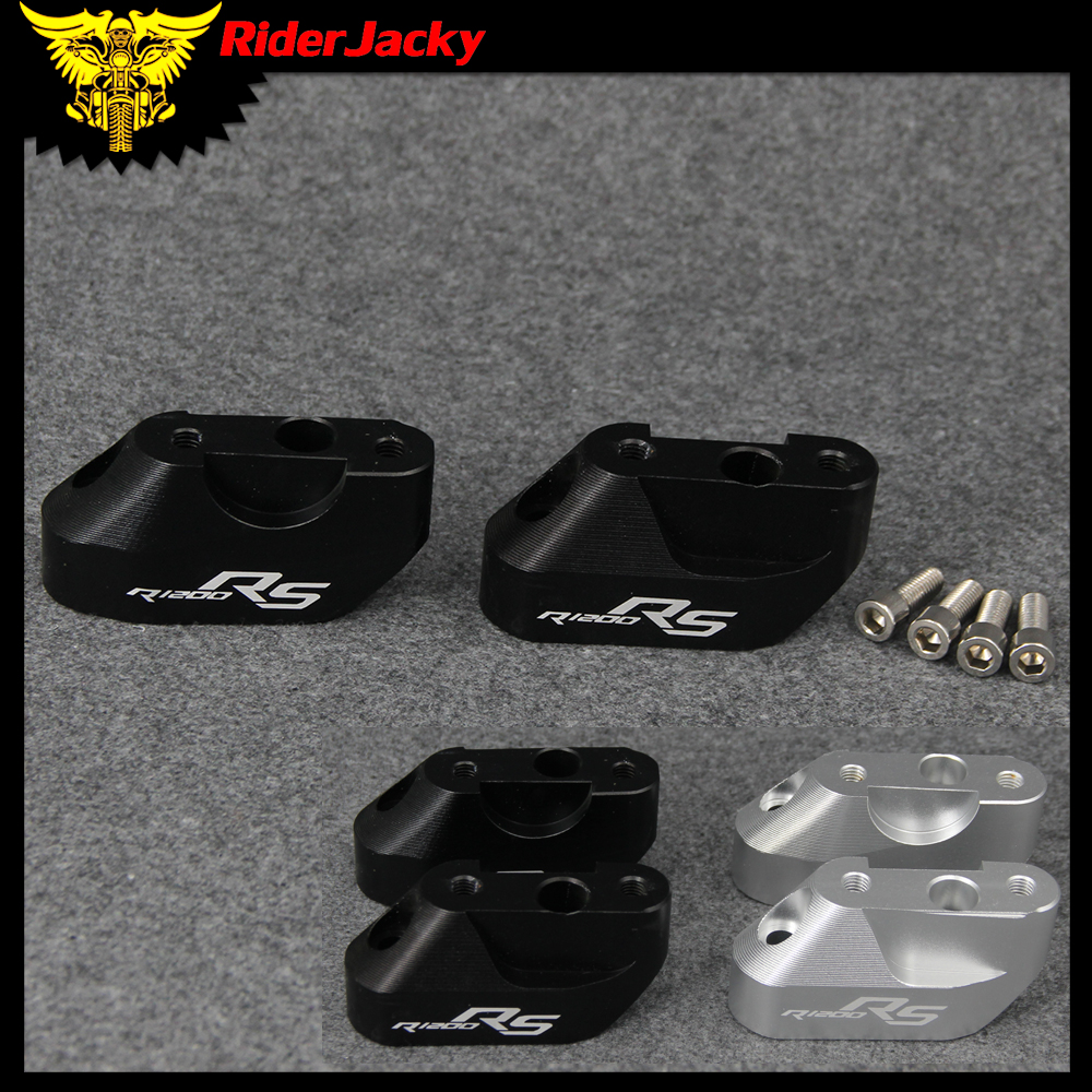 Motorcycle handlebar risers Height up Adapters After the shift Laser Logo R1200 RS For BMW R1200RS