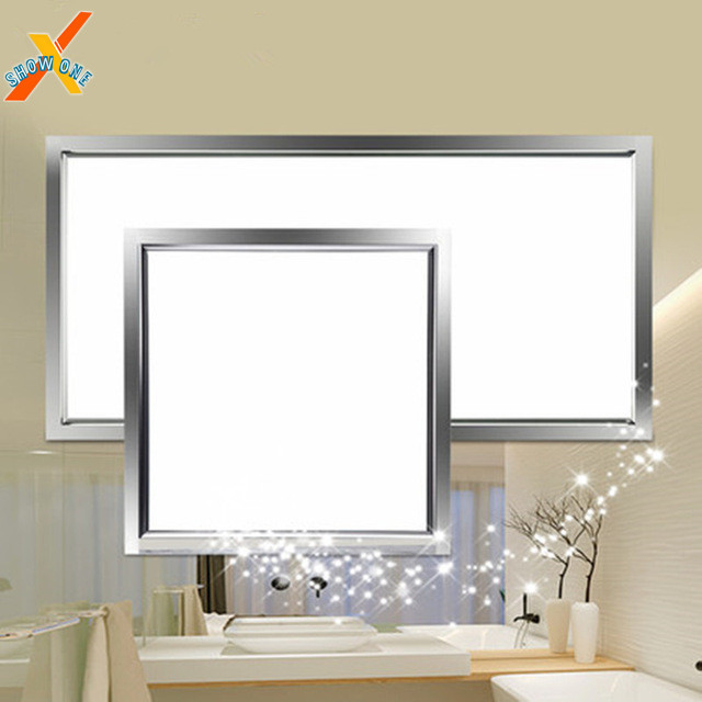 Us 5 88 Integrated Ceiling Led Lights Flat Aluminum Slabs Lamps Embedded Kitchen Panel Bathroom Waterproof In