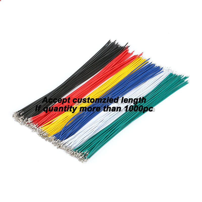 Free shipping 20pc 6 Colors XH2.54 Single Tin Header 20CM Terminal wire Connector wire 24AWG free shipping 24v dc mig welding wire feeder motor single drive 1pcs