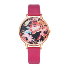 Fashion Women Watches Rose Gold Watch Leather Band Ladies Wristwatch Gift Clock montre femme relojes mujer