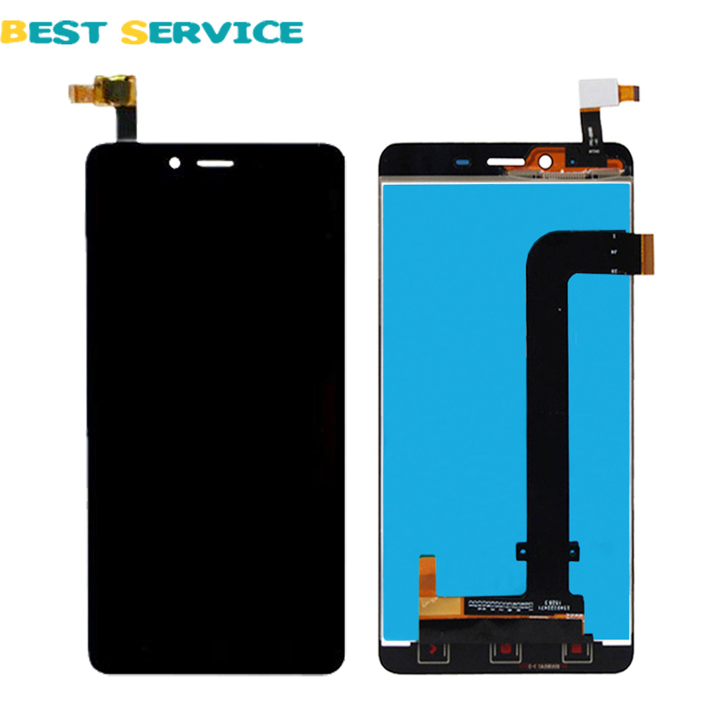 10Pcs/Lots For Xiaomi Hongmi Redmi Note 2 LCD Screen Display withTouch Screen Digitizer Assembly Black Free Shipping