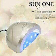 SUN ONE UV&LED White Light 48W Professional Nail Lamp Nail Dryer Curing Gel LED Gel Nail Polish Nail Art Tool