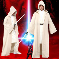 Movie Cosplay Star Wars Luke Skywalker Cosplay Costume Full set Halloween Role Play Cosplay costume Plus size S 3XL