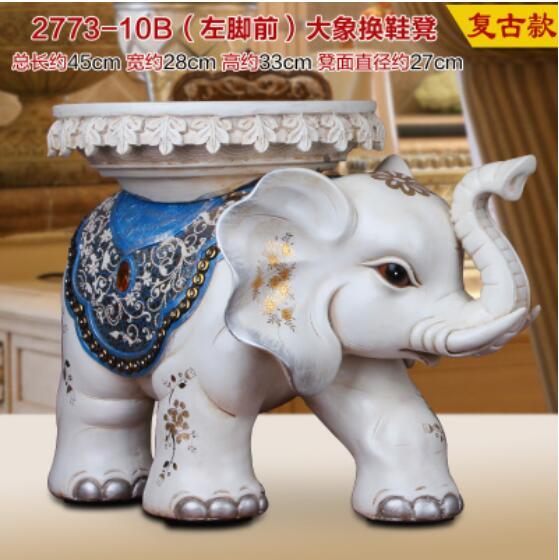 el elefante taburete zapatos europea muebles para el hogar sala de estar decoracin de inauguracin de