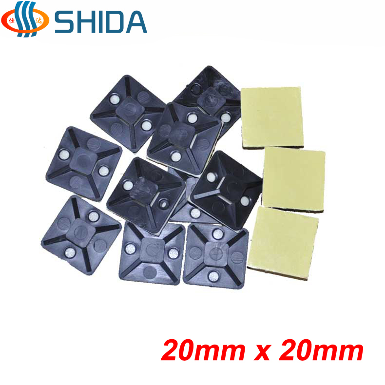 30PCS Self Adhesive Cable Clips Wire Clips for Management Dash Cam Cable Clip