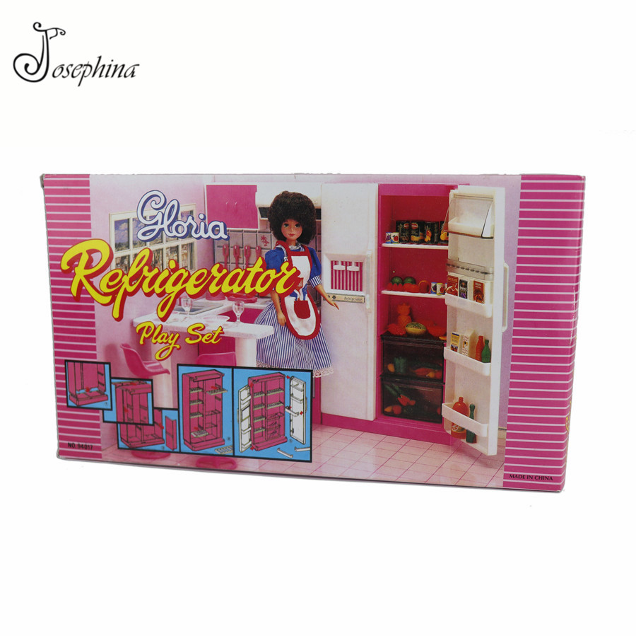 Jimusuhutu Plastic Refrigerator Kitchen Furniture Set For Barbie Doll House Classic Toys For Kids Educational Pretend Play Toy For Barbie For Barbie Dollbarbie Doll House Set Aliexpress