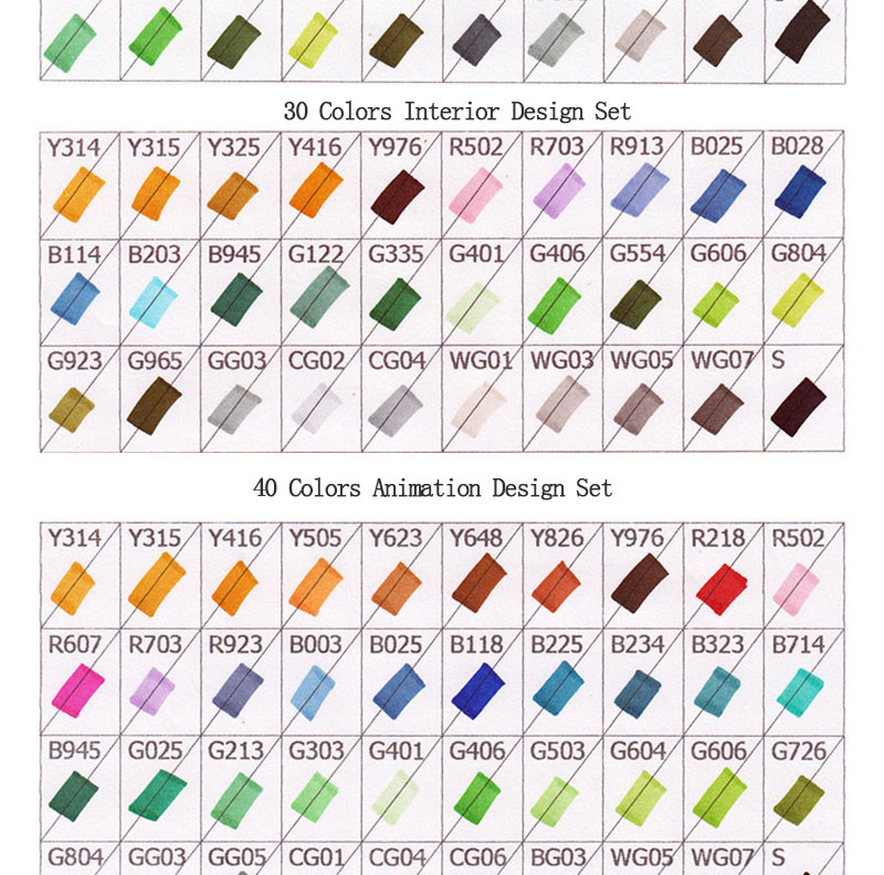 China design art markers Suppliers