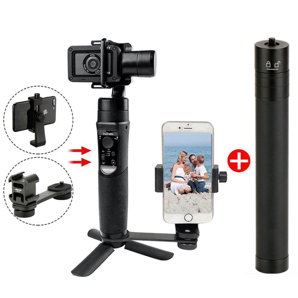 Hohem iSteady Pro Handheld Gimbal Stabilizer Time-Lapse Tracking for Gopro Hero 7/6/5 Osmo Action Sport Action CameraHohem iSteady Pro Handheld Gimbal Stabilizer Time-Lapse Tracking for Gopro Hero 7/6/5 Osmo Action Sport Action Camera