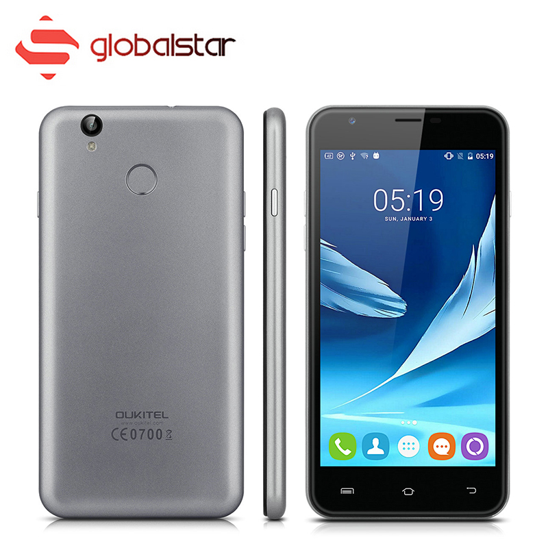 Oukitel U7 Plus Quad Core MTK6737 4G Smartphone 5.5 Inch Android 6.0 RAM 2GB ROM 16GB Cellphone Dual SIM Ultra Slim Mobile phone
