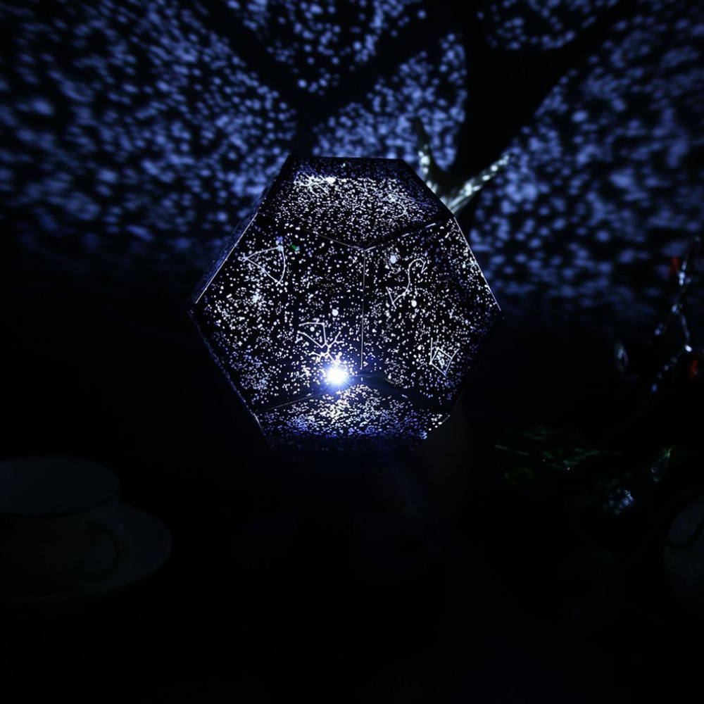 2018 New Arrival Celestial Star Astro Sky Cosmos Night Light Projector Lamp Starry Bedroom Romantic Home Decor Drop Shipping