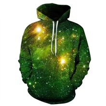 Unisex 3d Space Galaxy Hoodies – loose style