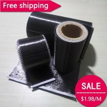 Toray T700 300gsm 4.2 Gpa Carbon Fiber 12k UD Uni-directional Cloth Fabric Tap High strength Building Repair material