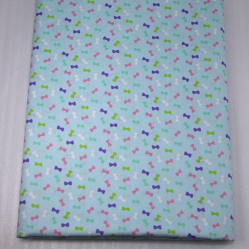 50*147 CM de tela de algodón 100 por ciento a cuadros arco para Niños Tejido rop