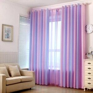 Современные Простые тканевые занавески для кухни, прозрачные тюлевые занавески для детской спальни, бесплатная доставка