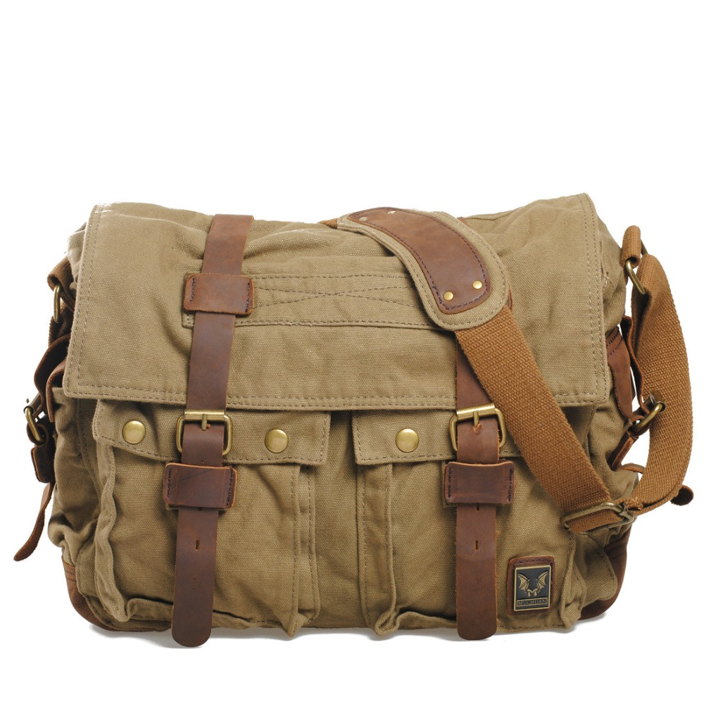 цены на Men Briefcase Canvas Messenger Laptop Bag Business Briefcase Bags for Document Shoulder Handbags Computer bag в интернет-магазинах