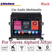 Liislee For Toyota Alphard AH30 Stereo Android Radio DVD Player 3G Wifi BT GPS MAP Navigation 1080P System Original NAVI Design