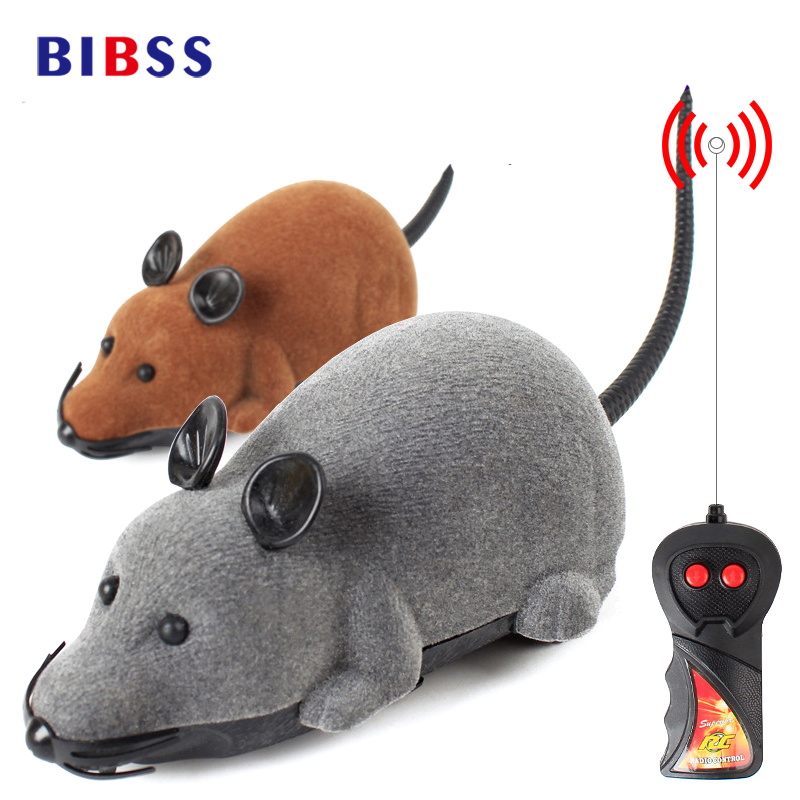 Cat toys Wireless electric Remote Control Simulation Funny Cat Toy Flocking Mouse Interactive Toys for Cat Pet Supplies
