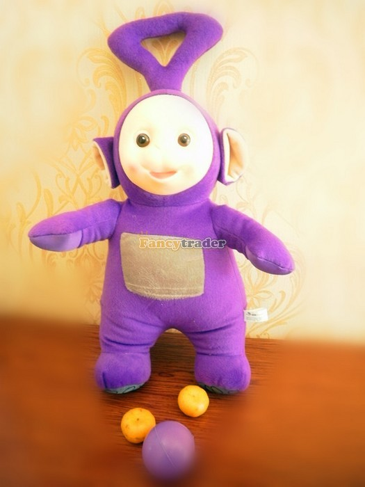 Fancytrader Super Quality Full Set 4 pcs 20\'\' 50cm Copyrighted Plush Stuffed Teletubbies FT90434 (3)