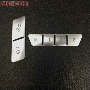 Image 4 - 12 قطع abs مقعد الذاكرة قفل إفتح تبديل زر الغلاف تريم ل مرسيدس بنز cla/gla e كلاس w212 glk/gle/ml/gl