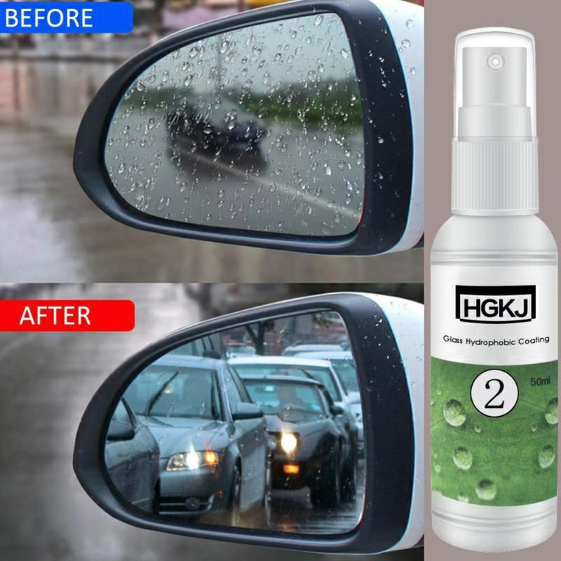 HGKJ-2-<font><b>20ml</b></font> <font><b>Car</b></font> <font><b>Glass</b></font> Anti-rain Spray <font><b>Car</b></font> Rearview Mirror Rainproof <font><b>Nano</b></font> <font><b>Hydrophobic</b></font> Coating <font><b>Glass</b></font> <font><b>Hydrophobic</b></font> Coating Sprays image