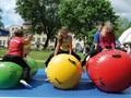 GA056 venta Caliente 60 cm diamete gimnasia inflable barril aire, aire equipo de gimnasio colchoneta inflable del aire/pista/rodillo para una pc