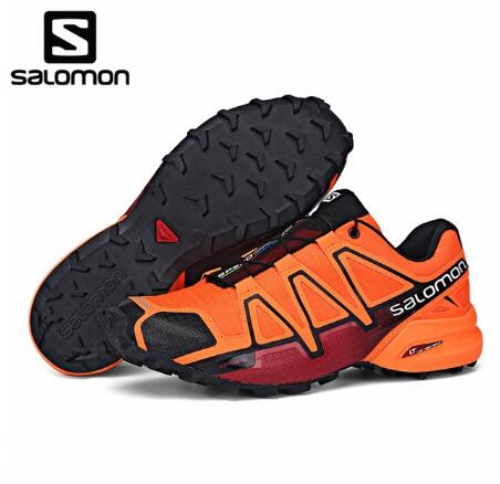 7e54adcf34eb Original New Arrivals Salomon Speed Cross 4 CS Men Running Shoes New Colors  Sneakers High Quality Salomon Athletics Men s Shoes
