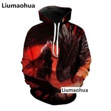 Liumaohua New shelves Cosmos fashion hot power game 3D printing casual men / women  hoodie sweatshirt suit hip hop