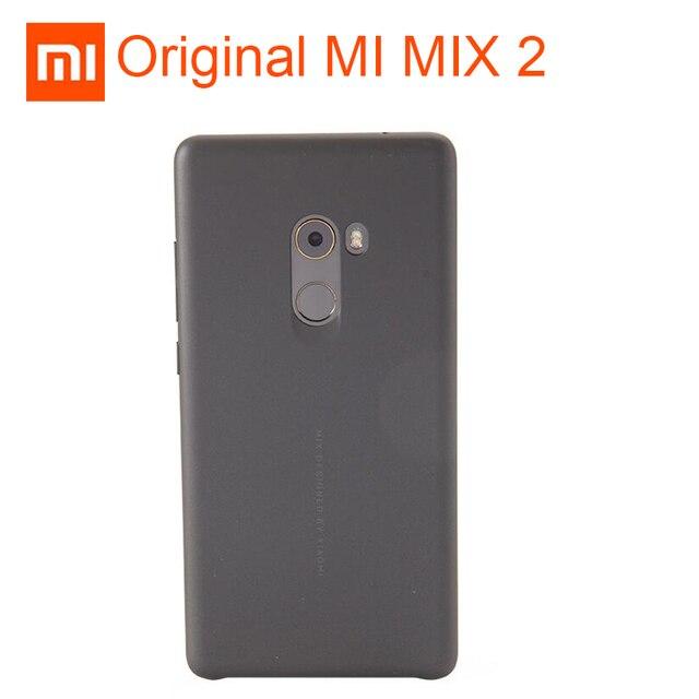 pretty nice 4c844 15ac0 US $8.66 20% OFF|Original XIAOMI Mi MIX 2 Case Cover Ultra Thin Back Case  Genuine XIAOMI MIX2 Case 5.99