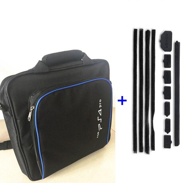 PS4 PRO Carry Bag Storage Travel Protective Case Handbag Shoulder Bag+DIY  Dust Proof