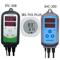 IBS TH1 плюс Bluetooth Беспроводной Магнитные Смарт Сенсор регистратор данных + ITC 308 обогреватель, охладитель Температура и IHC 200 регулятор влажност