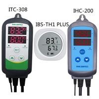 IBS TH1 plus bluetooth 무선 자기 스마트 센서 데이터 로거 + ITC 308 히터 쿨러 온도 및 IHC 200 습도 조절기|온도 계측기|   -