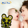 1Pcs Frog Pattern Lcd Sticker Forehead Baby Thermometer Celsius Body Fever Baby Care No Mercury Medical Thermometer For Children