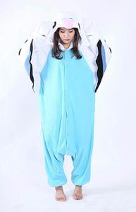 Image 4 - Erwachsene Unisex Fleece Tier Papagei Onesies Neuheit Pyjamas Pyjamas Nachtwäsche Overall Karneval Kostüme Kigurumi