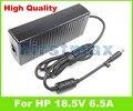 18.5 В 6.5A 120 Вт адаптер переменного тока для HP HDX HDX18 HDX18t Pavilion DV6 DV7 DV8 Питания Зарядное Устройство 608426-001 PPP016L-E 609941-001
