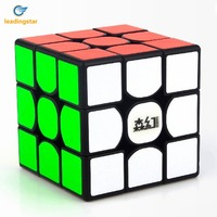 LeadingStar 3x3 Speed Cube Classic Brain Teaser Puzzle Toy Plastic Magic Cube For Magic Cube Beginner