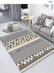 Mata podłogowa małe dywan koc geometryczny wzór 40x60 50x80 60x90 80x120 100x160 120x160 140x200 160x230 180x280 200x300cm w Dywan od Dom i ogród na