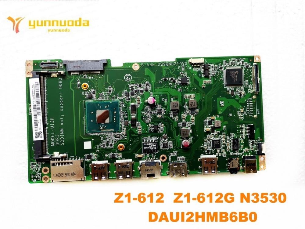 original for ACER  Z1-612  Z1-612G  laptop motherboard Z1-612  Z1-612G N3530  DAUI2HMB6B0 tested good free shipping original for ACER  Z1-612  Z1-612G  laptop motherboard Z1-612  Z1-612G N3530  DAUI2HMB6B0 tested good free shipping