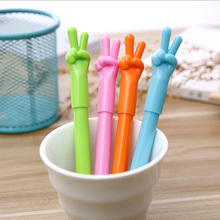 4X Creative scissors hand automatically ballpoint pen office write pen children s gift kawaii caneta School