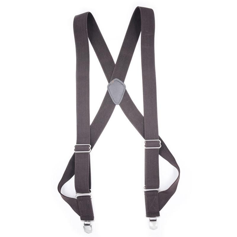 Elastic Fashion Men Shirt Commercial Weastern Trousers Brace Strap For Men Suspenders Man Dot Clothes Accessories Large Size