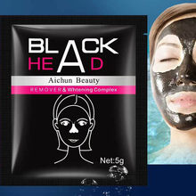 1PC Facial Mask Nose Blackhead Remover Black Mud Deep Cleansing Purifying Peel Off Facail Face Mask Remove Blackhead Facial Mask(China)