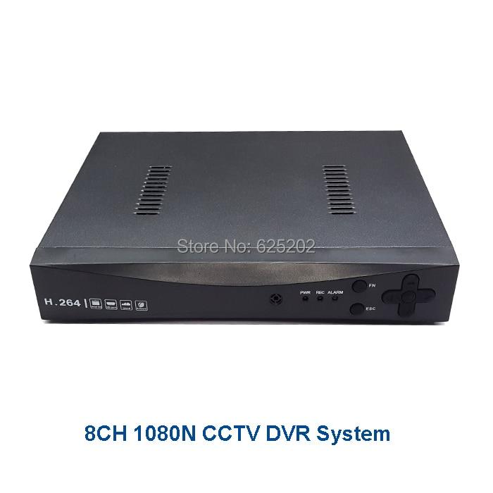 2017 New Style 8CH 1080N DVR Digital Video Recorder Support 8ch AHD TVI CVI CVBS IP Signal new 8ch