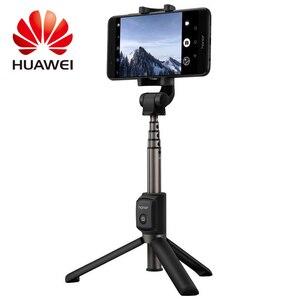 Image 2 - 100% Huawei onur AF15 Selfie sopa Tripod Bluetooth 3.0 taşınabilir kablosuz Bluetooth kontrol Monopod stokta cep telefonu için