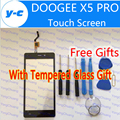 DOOGEE X5 Pro Touch Screen 100% Original Digitizer glass Touch panel Assembly Replacement For DOOGEE X5 PRO 5.0'' phone-In Stock