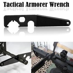 Magorui AR15 Gelişmiş Anahtarı Armorer anahtarı Tüfekçi Aracı Kale Somun A1/A2 Namlu Fren