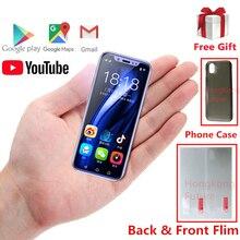 Супер мини 4G смартфон Anica i9s 16 Гб/32 ГБ/64 Гб rom Android celular WiFi Google Play Face ID маленький мобильный телефон для студентов