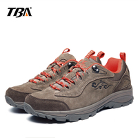2019 TBA man sports outdoor shoes athletic light leather waterproof breathable hiking shoes women climbing sneakers