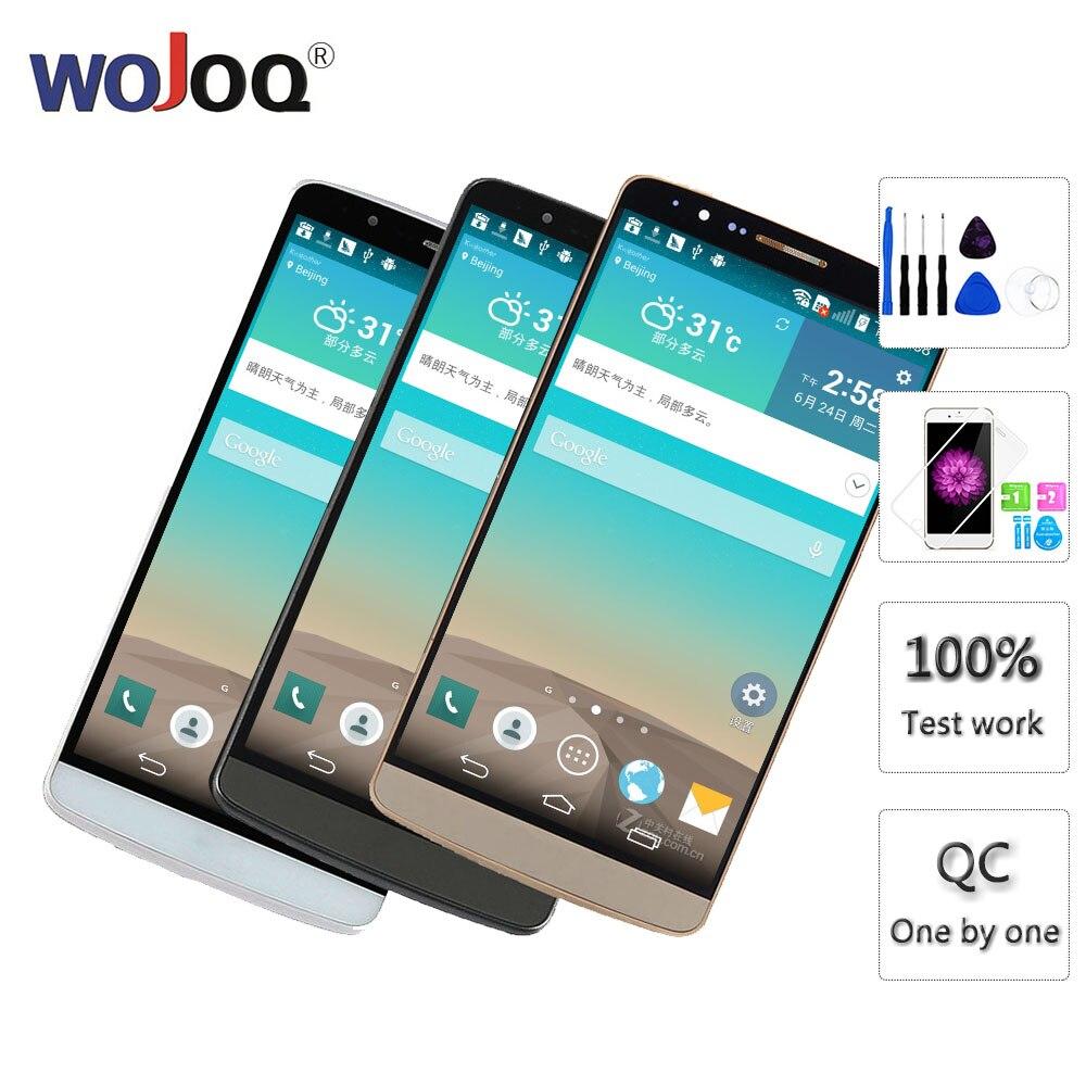 Tela Original Para LG D850 G3 LCD Screen Display LCD de Toque Digitador Assembléia Com Substituição Quadro G3 D851 D855 LCD exibição
